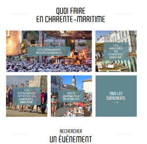 Quoi fair en Charente Maritime